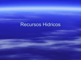 Recursos hidricos - Udall Center for Studies in Public Policy