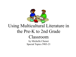 Using Multicultural Literature in the Pre