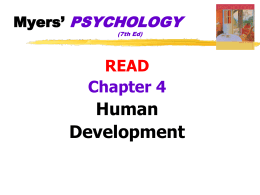 Introduction to Psychology - Henry County School District
