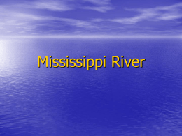 Mississippi River - Welcome to MYC website