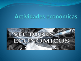 Actividades economicas - geohumana | Just another