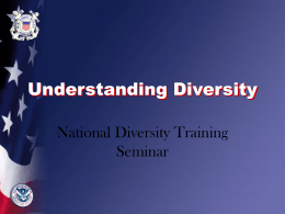 Understanding Diversity - US Coast Guard Auxiliary