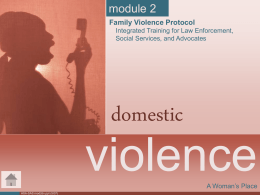 Module 2 Domestic Violence ppt