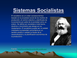 Sistemas Socialistas