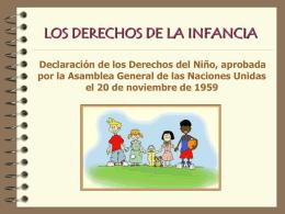 Los derechos de la infancia