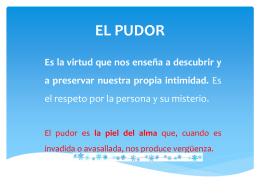 EL PUDOR