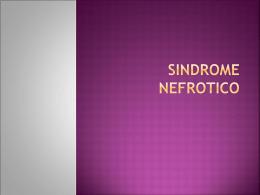 SINDROME NEFROTICO - Seccionseis's Weblog