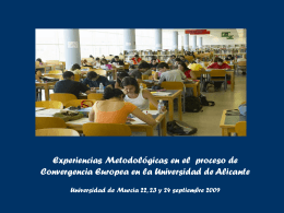 Diapositiva 1 - Universidad de Murcia