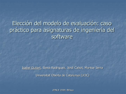 Metadata for describing educacionat competencies: The …
