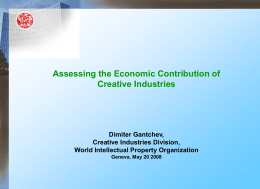 UNCTAD XI HIGH-LEVEL PANEL ON CREATIVE INDUSTRIES