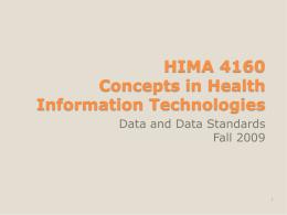 HIMA 5060 Health Informatics Health Informatics