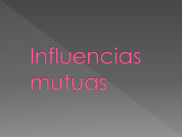 Influencias mutuas