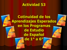 SISTEMA EDUCATIVO ESTATAL DIRECCION DE …