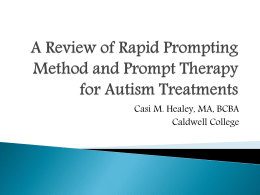 A Review of Rapid Prompting Method and Prompt …