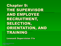 Supervision: Concepts and Practices 11e