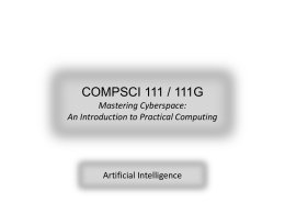 COMPSCI 111 - ISLE Home Page