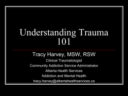 Trauma & Addiction: Creating Safety for Clients in Dual