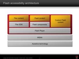Flex accessibility