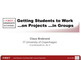 Projekt og Kommunikation