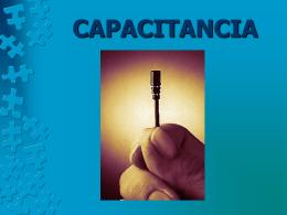 CAPACITANCIA