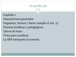 Acuerdo 96