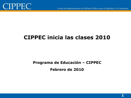 Ley de Financiamiento Educativo Nro 26.075