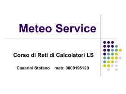 Meteo Service