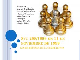 STC 208/1999, de 11 de noviembre de 1999