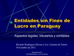 Diapositiva 1 - Rodriguez Silvero y Asociados