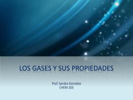 LOS GASES Y SUS PROPIEDADES