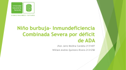 Deficit de Adenosin Deaminasa