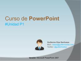 Diapositiva 1 - @guillermodiaz | .com