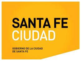 Diapositiva 1 - Santa Fe Ciudad