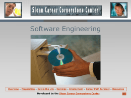 Software Engineering - Career Cornerstone Center: Careers