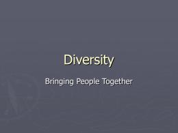 Diversity - Worklife Matters