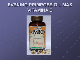 EVENING PRIMROSE OIL MAS VITAMINA E