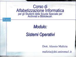 Un modello per architetture distribuite Java/Corba/OODBMS