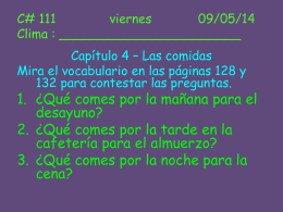 C# 111 viernes 09/05/14 Clima