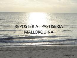 PASTISERIA I REPOSTERIA MALLORQUINA