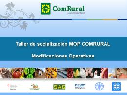 Proyecto Competitividad Rural