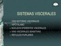 SISTEMAS VISCERALES