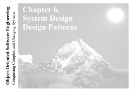 Lecture 3 for Chapter 6, System Design