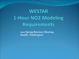 1 hour NO2 presentation