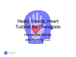 Head, Hands, Heart Tutorial for Therapists
