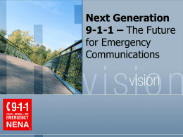 Introduction to Next Generation 9-1