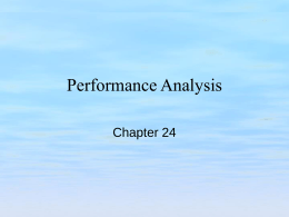 Performance Analysis - Brands Delmar