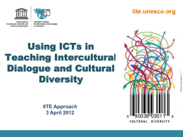 REPORT BY THE UNESCO IITE GOVERNING BOARD