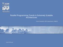 Parallel programming trends - Benvenuto | Dipartimento …