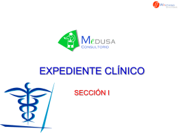 MEDUSA Expediente