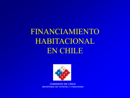 FINANCIAMIENTO HABITACIONAL